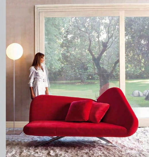 καναπές-κρεβάτι papillon