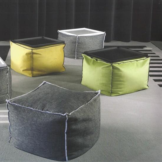 stool pouf