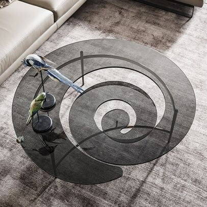 Coffee table spiral