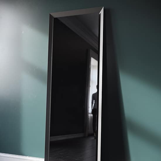 Mirror square tall